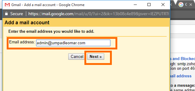 6. Gmail - Add a Custom Domain Email