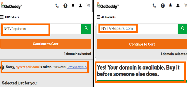 Modify Domain Name