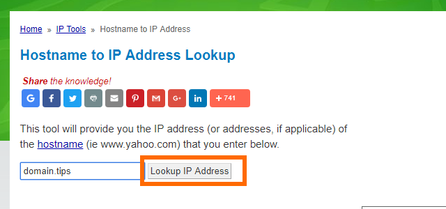 WhatismyIPaddress Enter Hostname Lookup IP Address