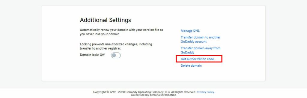 GoDaddy BlueHost Domain Transfer