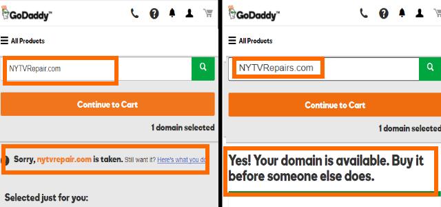 Modify Domain Name